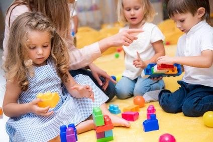 Möglicher Ansteckungsort für Streptokokken: Der Kindergarten