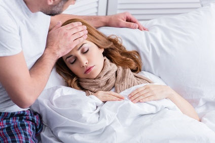 Bettruhe bei Fieber